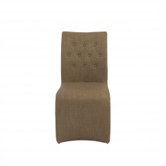 Zad Side Chair - RTA - (Set of 2) - Mocha
