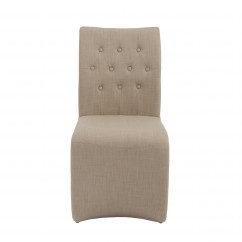 Zad Side Chair (Set of 2) - Tan