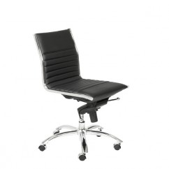 Dirk Low Back Office Chair Armless
